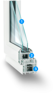 vynil window 1 181x300 - Tilt and Turn Window