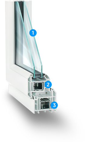 vynil window 1 - Tilt and Turn Windows