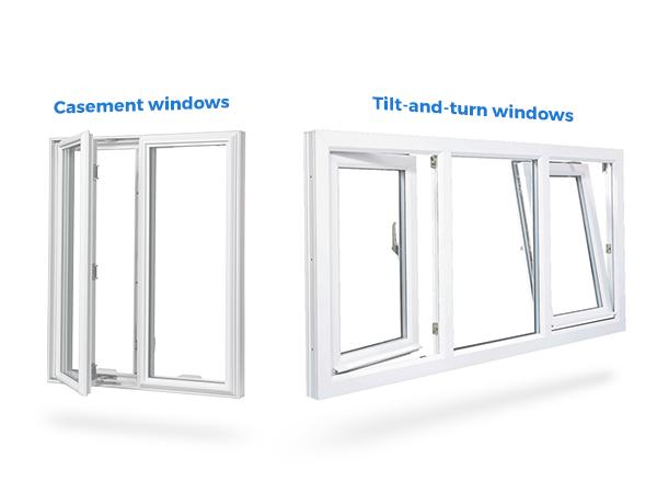 case vs tilt - Tilt and Turn vs. Casement