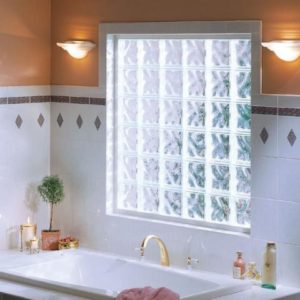 VinylWrappedGlassBlockWindow 300x300 - Styles of Fixed Windows