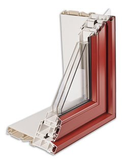 Gienow MetalCladVinyl CrossSection - All About Metal-Clad Windows