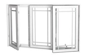 Vinyl Casement 3 lite ext open 614x400 300x195 - casement windows
