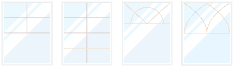 windows grid two - Tilt-Only Windows (Hopper Windows)