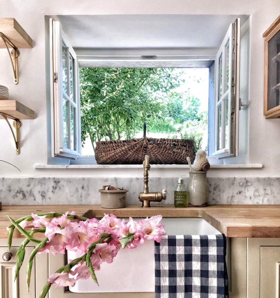 a french farmhouse kitchen 7 vivi et margot hello lovely studio 1440x1920 963x1024 - Great Benefits of Using French Windows